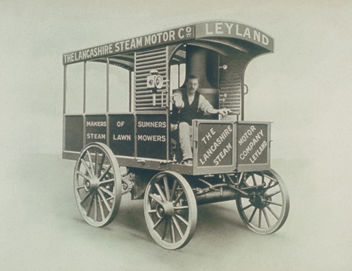 1896 Leyland Steam Van