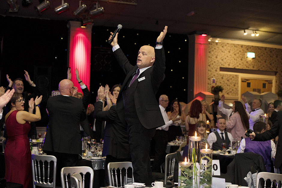 Leyland Trucks Helping Hand Charity Ball Raises £16,000